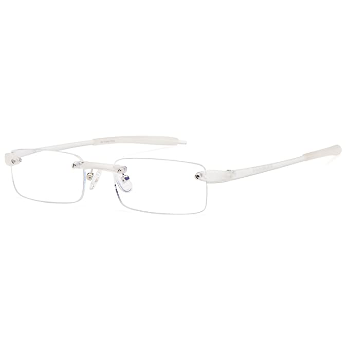 1616148944a Amazon.com  ALTEC VISION Rimless Readers Lightweight Reading Glasses ...