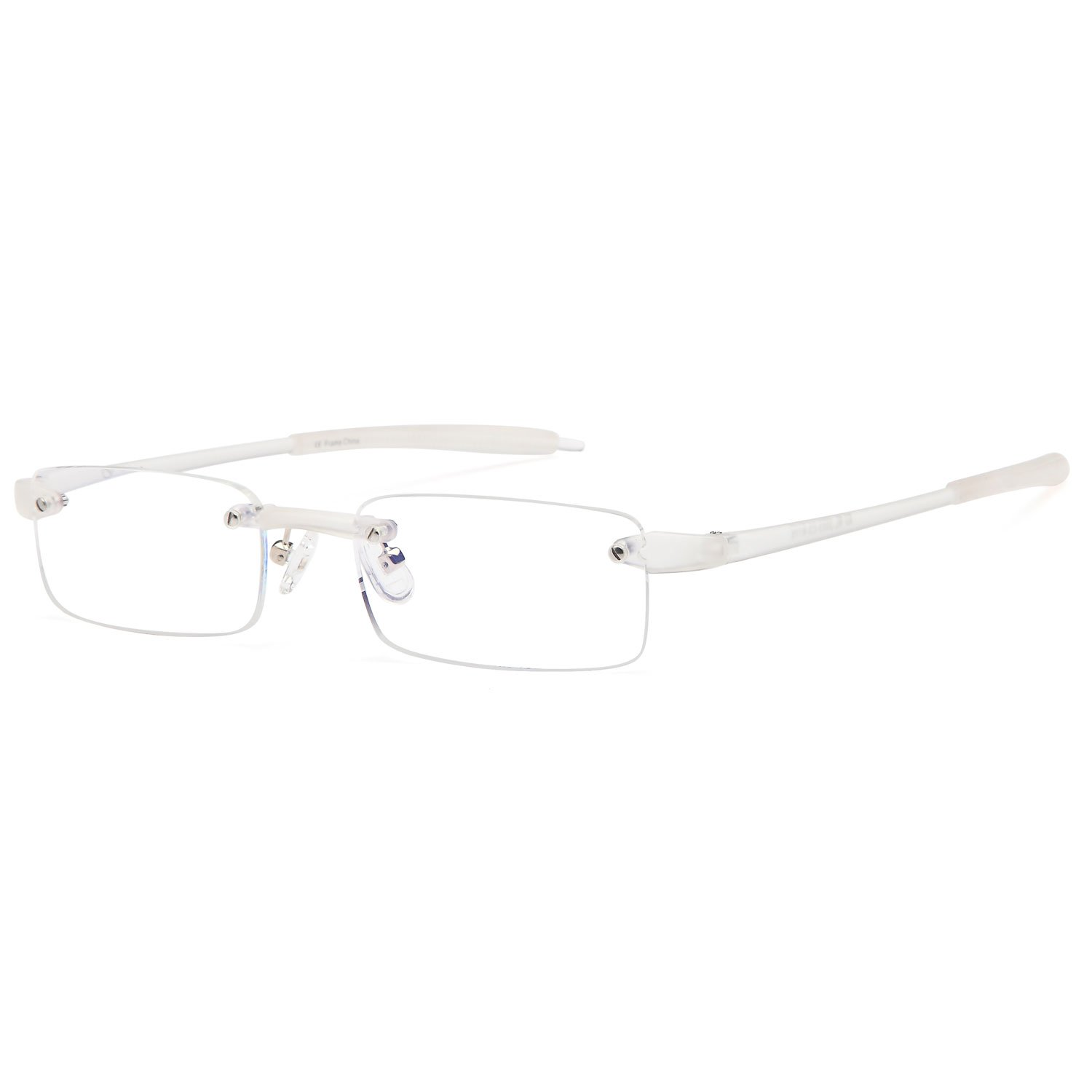425741de4d92 ALTEC VISION Rimless Readers Lightweight Reading Glasses With Case