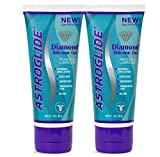 Astroglide Diamond Silicone Gel Premium Silicone Gel Personal Lubricant : Size 3 Oz. (Pack of 2) by Astroglide