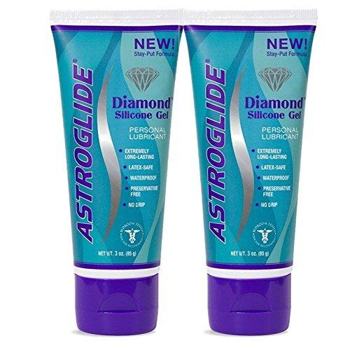 Astroglide Diamond Silicone Personal Lubricant