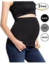 Womens Maternity Belly Band Non-slip Everyday Back Support Bands for Pregnancy