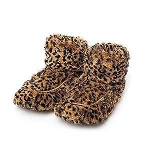 Intelex Microwaveable Cozy Plush Body Boots Tawny US 5 - 9 Womans ( UK 3 - 7)