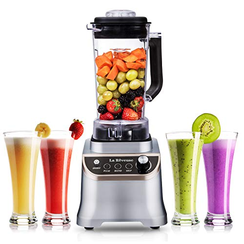 Professional Countertop High Speed Blender with 1200-Watt Base-51 oz BPA Free Jar for Frozen Drinks and Smoothies,Special Design for Entire ()
