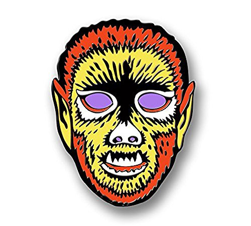 Ben Cooper Ghoulsville Electric Wolfman Pin]()