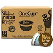 San Francisco Bay 31152 One-Cup Single Serve Coffee French Roast, 80-Count