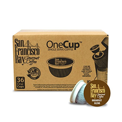 Amazon Lightning Deal 54% claimed: San Francisco Bay 49114 One-Cup Single Serve Coffee Breakfast Blend 36-Count