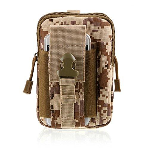 Yellow Single Jogging Stroller (Vibola Handbag Outdoor Camping Climbing Bag Tactical Military Molle Hip Waist Belt Bag Handbag (I))