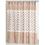 South Beach Fabric Sea Shell Shower Curtain