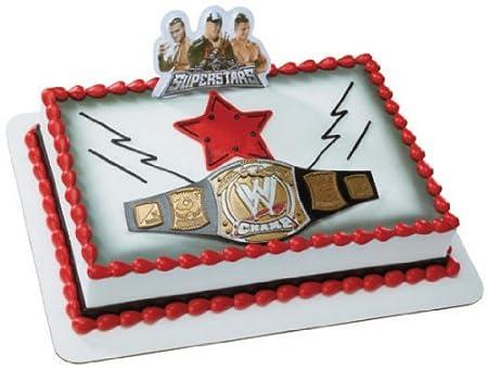 Wwe Cake Decorating Ideas Top Cakes Birthday