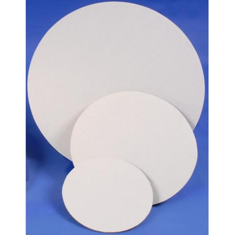 Boxit White with Grease Resistant Coating Cake Circle, 18 inch -- 100 per case.