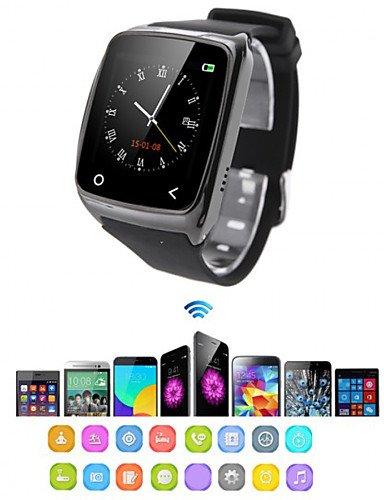 bluetooth4.0 i8 reloj inteligente para el iphone de Samsung HTC Xiaomi ios android lucha contra la pérdida de función de alarma del , black: Amazon.es: ...
