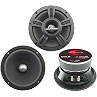 Lanzar OPTI6MI Opti Drive 500 Watt 6.5-Inch High Power Midbass Speaker (single)