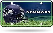 NFL Unisex-Adult NFL Metal License Plate Tag