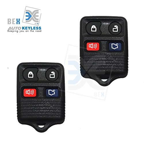 bex-new-2-x-replacement-keyless-entry-remote-control-key-fob-clicker-transmitter-4-button-for-1998-2
