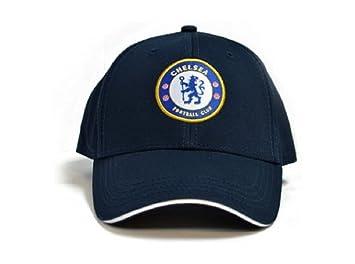 Gorras oficiales de los equipos de fútbol, Chelsea (Navy): Amazon ...