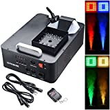 AW 1500W LED Smoke Effect Machine Stage Fogger Equipment Wired Control Disco Party