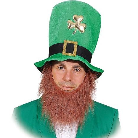 Cappello verde con la barba degli accessori del costume  quot Festa di San  Patrizio quot  a2376716d35f