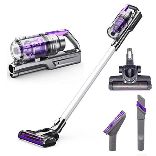 VViViD Rev Turbo Cordless Vacuum Cleaner with High-power Long-lasting, 2200 mah Lithium Ion Battery