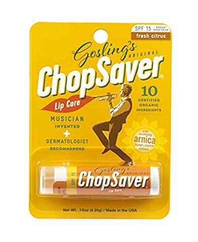 Goslings Original ChopSaver SPF 15 Lip Care, 0.15 Ounce (Pack of 6) - Chopsaver Lip Balm