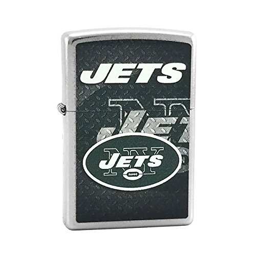 Nfl Zippo New York Jets - Custom Style Personalized Zippo Lighter NFL - Free Laser Engraving (New York Jets)