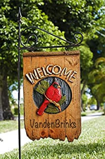 product image for Piazza Pisano Welcome Cardinal Yard Sign Personalized with Name or Address