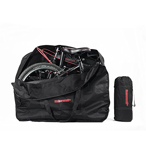 UPANBIKE Bike Storage Bag Outdoors Travel Bicycle Carrying Bag Transport Case For 20inch Folding Bike (Carrying Bicycle Case)