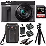 Panasonic DC-ZS70S Lumix 20.3MP, 4K Touch Enabled 3 LCD, 180 Degree Flip-Front Display, 30x Lens 128GB Bundle