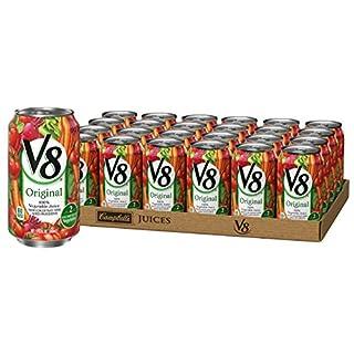 V8 Juice, Original 100% Vegetable Juice, Plant-Based Drink, 11.5 Ounce Can (Pack of 24)