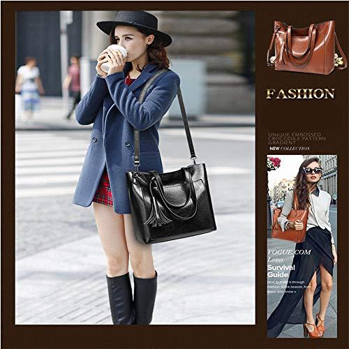 Mujer Viaje Marrón Audburn Mochila Ligera Casual Bolso Moda Para Mujer De Mensajero Bandolera FqSwpq