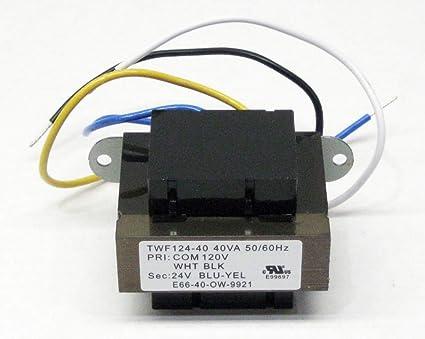 repsupplements 40va transformer primary 120v volt 24v secondary hvac Furnace Thermostat Wiring Diagram