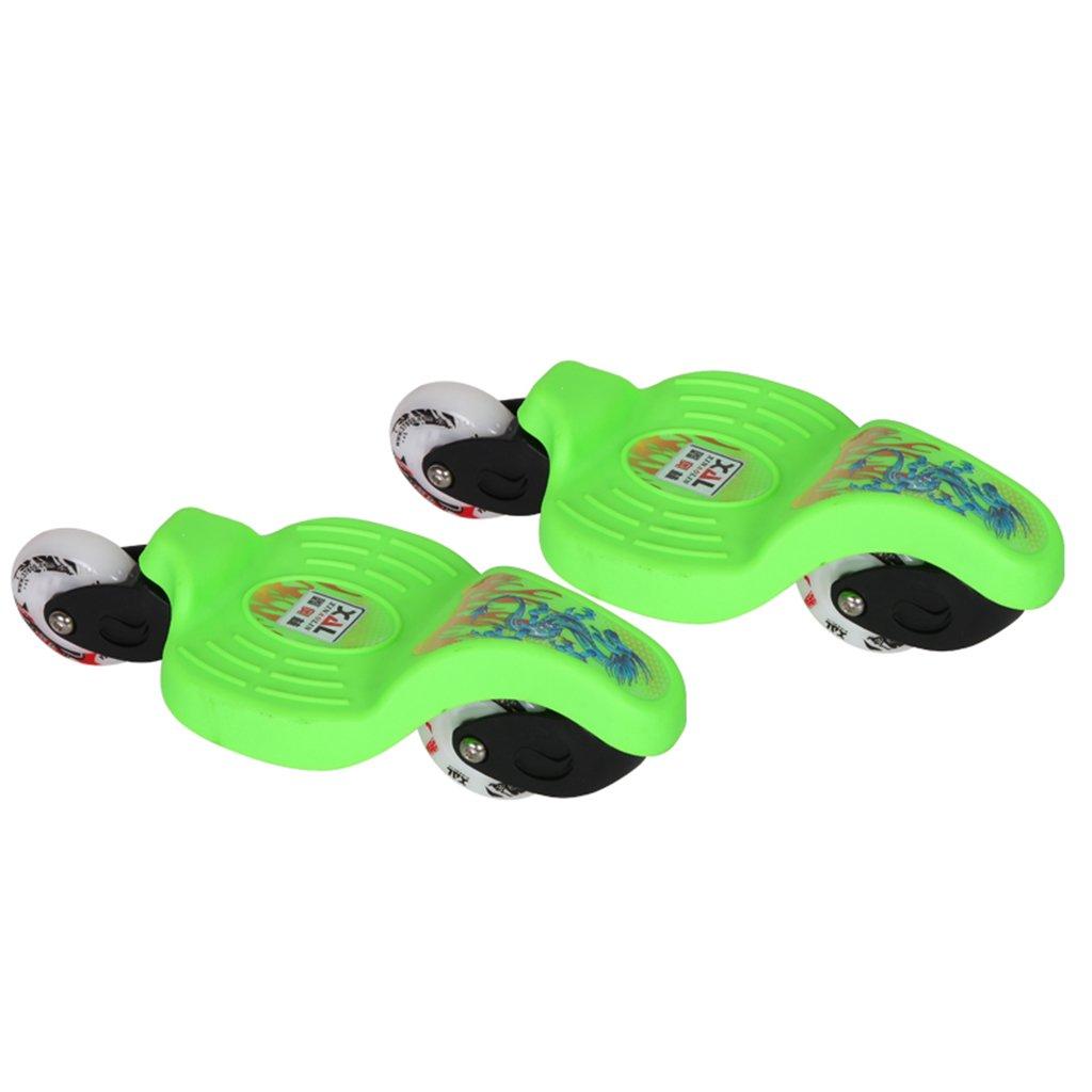 驚きの値段で ドリフトボードフリーラインスケートフラッシュ大人の子供四輪スプリットスケートボード輸送道路リップル B07FLTNGMT Green B07FLTNGMT Green Green Green, 愛媛うまいもの販売:00f6513a --- a0267596.xsph.ru