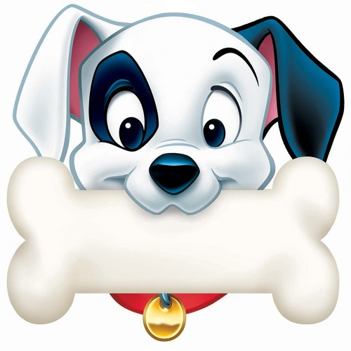 Eureka 101 Dalmatians Dog Bone Paper Cut Outs - 101 Wall