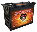 VMAX XTR12-155 VERSATILE FARM EQUIPMENT AGM 12V DEEP CYCLE MAINT FREE BATTERY