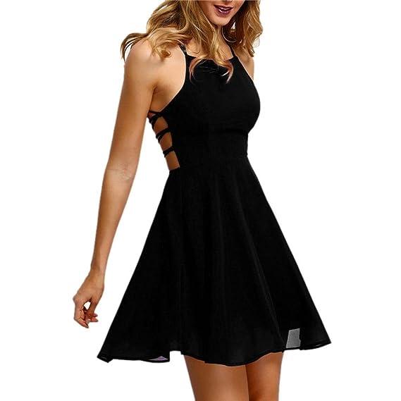 Vestido De Mujer SeñOras Sexy , ZARLLE Vestido De Fiesta La Fiesta Cocktail Backless Bandage Mini