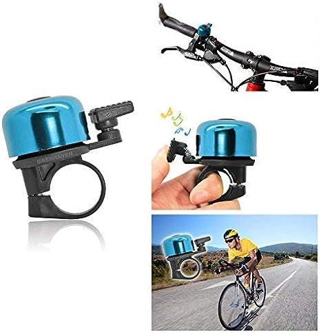 Caja de Aluminio Grenhaven peque/ño Timbre Bicicleta Campana Bici claxon Ding Dong bicleta
