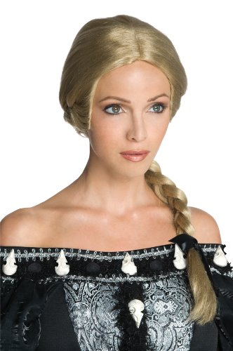 Snow White and The Huntsman Adult Ravenna Wig, Blonde/Brown, One Size]()