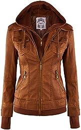Amazon.com: Brown - Coats Jackets &amp Vests / Clothing: Clothing