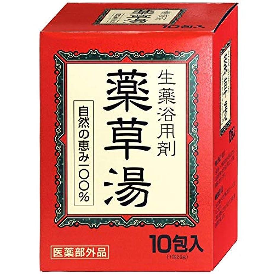 時折分析的評議会VVN生薬入浴剤薬草湯10包×(10セット)