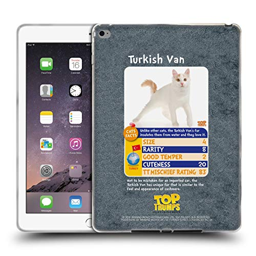 (Official Top Trumps Turkish Van Cats 2 Soft Gel Case for iPad Air 2 (2014))