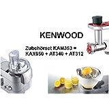 Kenwood kam353me Kit de 3accesorios Robots