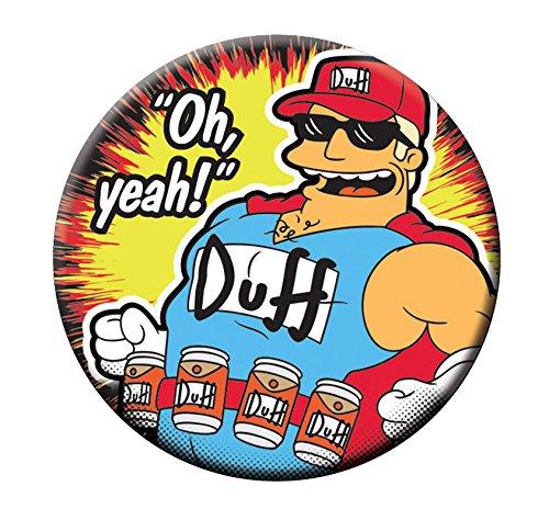 Fox Duff Man Button Opener Magnet