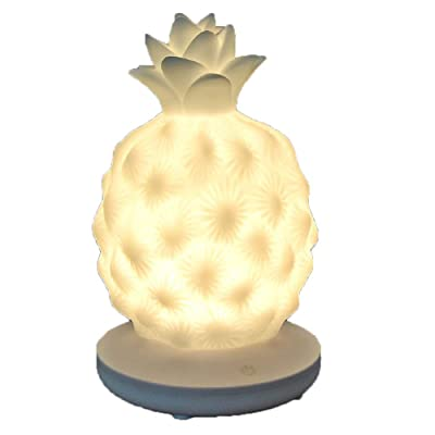 LED Desk Table Lamp Pineapple Shape Night Light