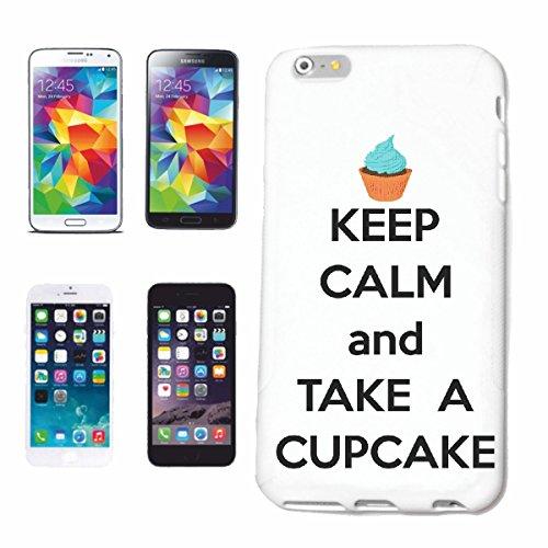 """cas de téléphone iPhone 7S """"GARDEZ LE CALME ET PRENDRE UN GÂTEAU LIFESTYLE FASHION STREETWEAR HIPHOP SALSA LEGENDARY"""" Hard Case Cover Téléphone Covers Smart Cover pour Apple iPhone en blanc"""