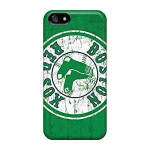 Faddish Phone Boston Red Sox Cases For Iphone 5/5s / Perfect Cases Covers