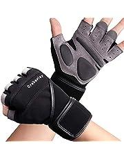 Grebarley Fitness Handschuhe,Trainingshandschuhe,Gewichtheben Handschuhe für Krafttraining,Bodybuilding,Sporthandschuhe für Damen&Herren
