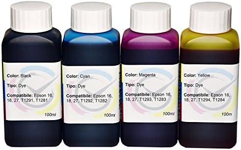400ml de tinta para recarga de cartuchos Epson 2711 / 2714 de ...