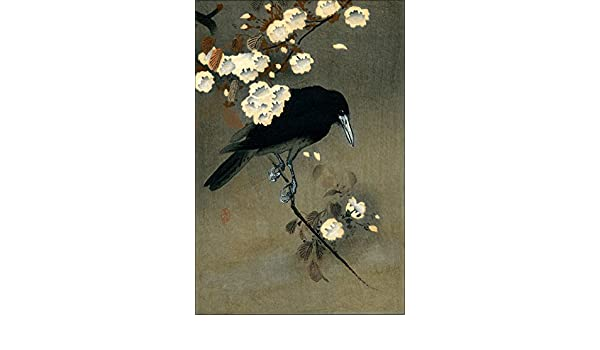"Beautiful Japanese Floral Art ~ CANVAS PRINT 36x24/"" Flowering Lily Koson"