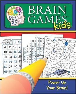 Amazon.com: Brain Games for Kids #1 (Brain Games Kids ...