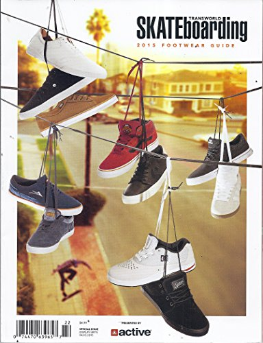 Transworld Skateboarding 2015 Footwear Guide (Skateboarding Supra)
