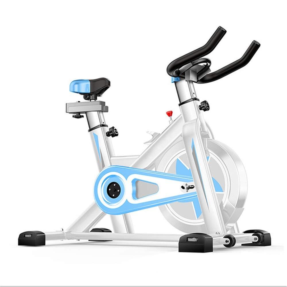 室内エアロバイク 訓練コンピュータおよび楕円形の十字のトレーナーが付いている高度の理性的な回転のバイク 調節可能なハンドルバー&シート (色 : 青, サイズ : Free size) Free size 青 B07QJ17Q88